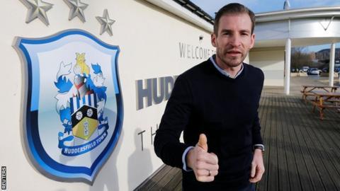 Huddersfield Town manager Jan Siewert