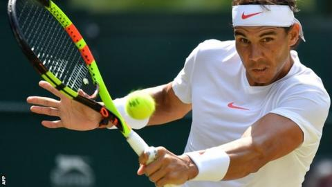 Nadal back in Wimbledon quarters after 7 years