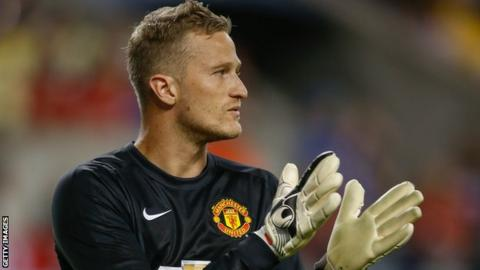 Lindegaard played 29 times for Manchester United