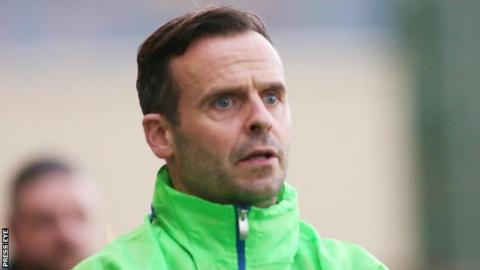 Dungannon manager Rodnery McAree had spells at Liverpool and Fulham as a player