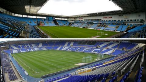 Coventry City will leave the Ricoh Arena to spend the 2019-20 season 22 miles away in Small Heath at St Andrew's, home of Birmingham City