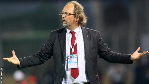 Malta coach Tom Saintfiet