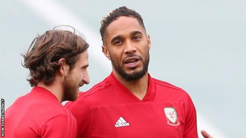 Joe Allen and Ashley Williams