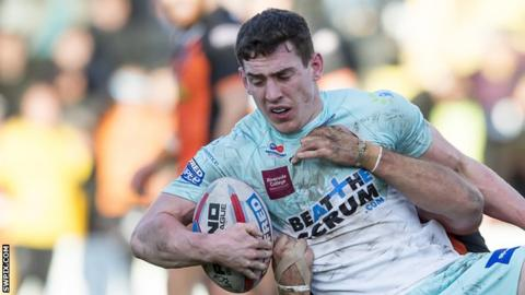 Matt Whitley has made 10 appearances for Widnes Vikings this season