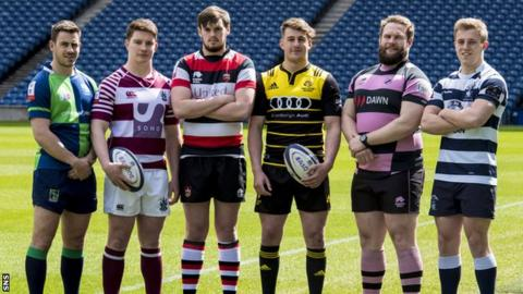 Super Six rugby captains