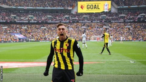 Watford substitute Gerard Deulofeu