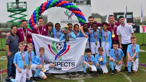 Manchester City Under-12s won the inaugural Prospects Cup in Florida