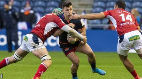 Damien Hoyland is back fit and on form at Edinburgh this season