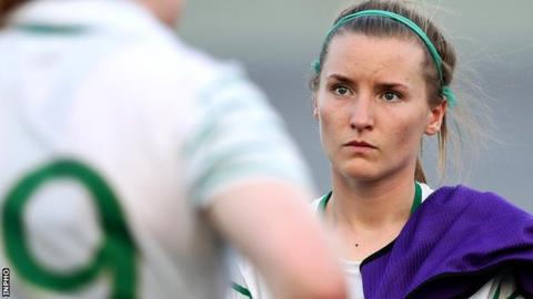 Donegal's Niamh McLaughlin represented the Republic of Ireland at the Under-17 World Cup finals in 2010