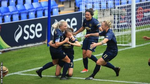 Manchester United defeat Liverpool in first women's match