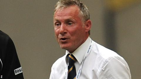Ex-Mansfield Town manager Duncan Russell