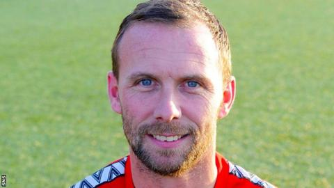 Colin McMenamin is the new manager of Stenhousemuir