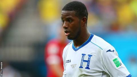 Juan Carlos Garcia made one appearance for Honduras at the 2014 World Cup in Brazil
