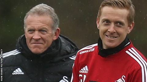 Alan Curtis and Garry Monk