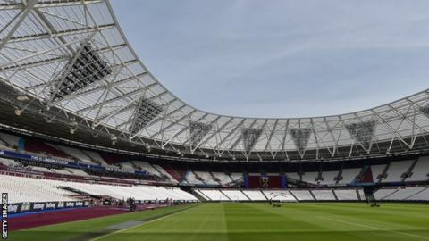 The fan has been banned from West Ham home games at London Stadium