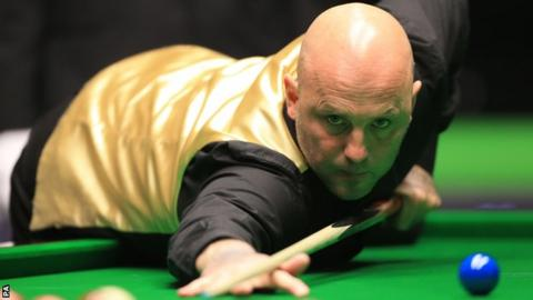 Snooker player Mark King