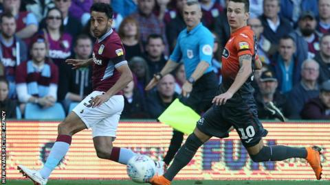 Neil Taylor in action during Aston Villa's win over former club Swansea
