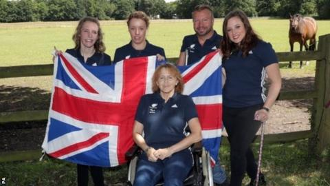 The GB team have a wealth of experience
