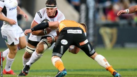 Coetzee has made just five appearances for Ulster since his arrival in 2016