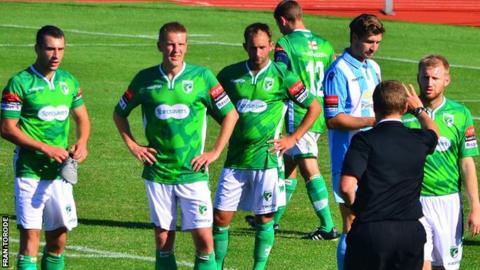 Guernsey FC v Folkestone Invicta