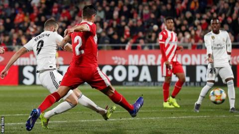 Real Madrid player ratings vs Girona: Benzema seals semi-final berth