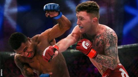 James Gallagher has won nine of his 10 professional fights