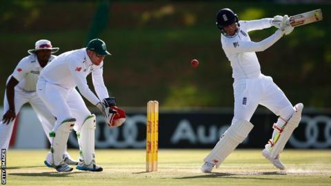 Joe Root during his century