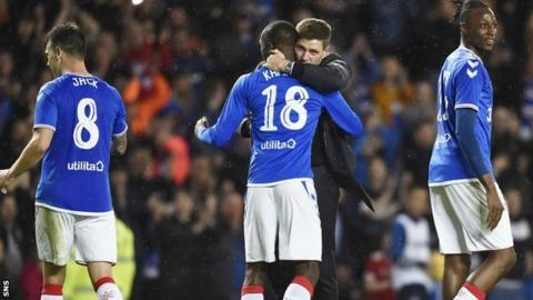 Gerrard's Rangers are through to the Europa League group phase for the second season running
