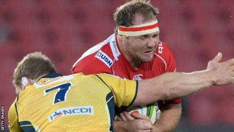Ulster hope Schalk van der Merwe will strengthen their scrum next season