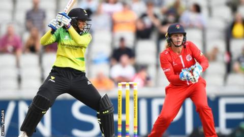 Kia Super League: Western Storm beat Yorkshire Diamonds by seven wickets