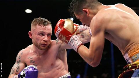 Carl Frampton wants a third fight with Leo Santa Cruz after January's defeat by the Mexican