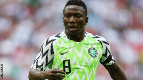 Oghenekaro Peter Etebo joins Stoke on five-year deal