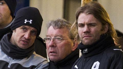 Stevie Crawford, Alex Smith and Robbie Neilson