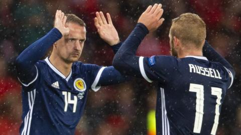 Leigh Griffiths and Johnny Russell