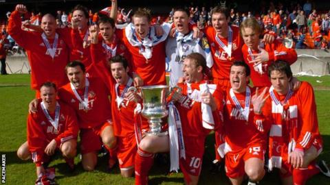 Portadown won the 2005 Irish Cup