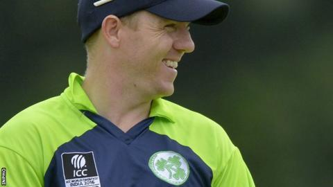 Niall O'Brien comes back into the squad for the Pakistan series at Malahide