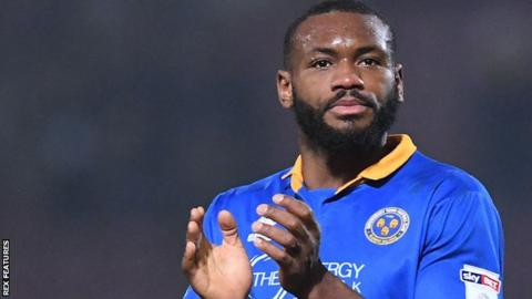 Shrewsbury forward Lenell John-Lewis