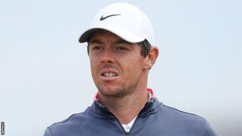 Rory McIlroy during this year's Irish Open at Ballyliffin