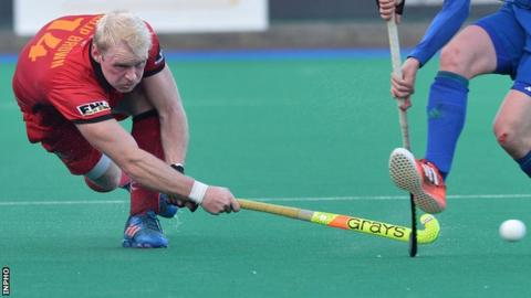 Philip Browne bagged a treble for Banbridge in their win over Annadale on Saturday