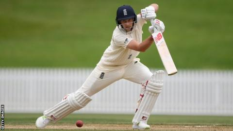Root hits hundred as England batsman gain valuable game time