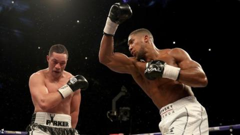 what next for anthony joshua after beating joseph parker analysis