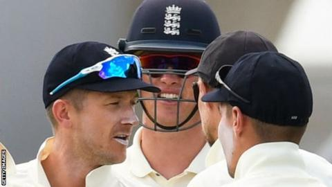 Joe Root suffers freak dismissal as England embarrassed again
