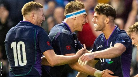 Scotland v South Africa: Finn Russell says Adam Hastings is not 'the enemy' in fly-half rivalry