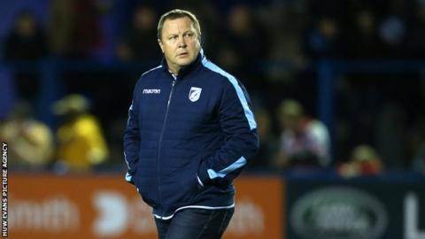 John Mulvihiil replaced Danny Wilson as Cardiff Blues head coach