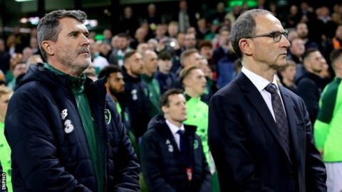Martin O'Neill and Roy Keane leave Republic of Ireland