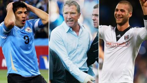in_pictures A split image of Luis Suarez, Graeme Souness and Pajtim Kasami