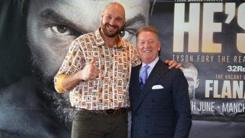 Tyson Fury and Frank Warren