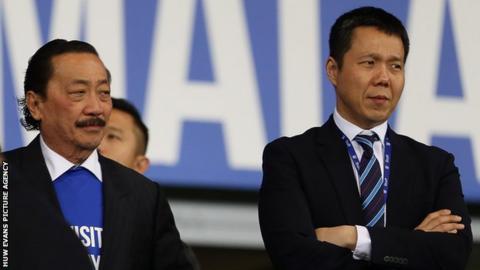 Vincent Tan (left) with Ken Choo