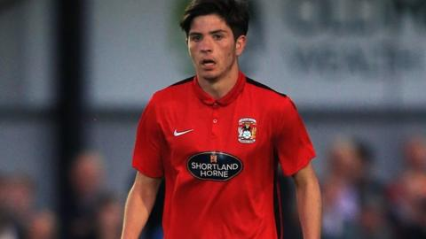 Wales-qualified Cian Harries is yet to make a first team appearance for Coventry City