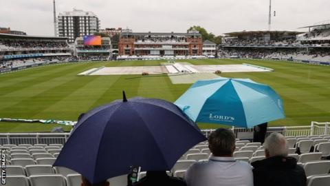 Fans at Lord's
